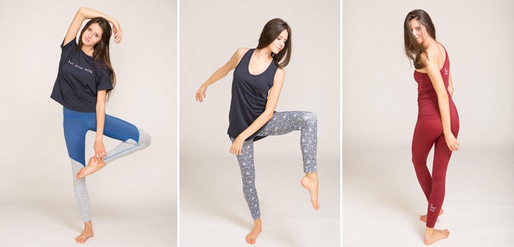 abbigliamento per yoga