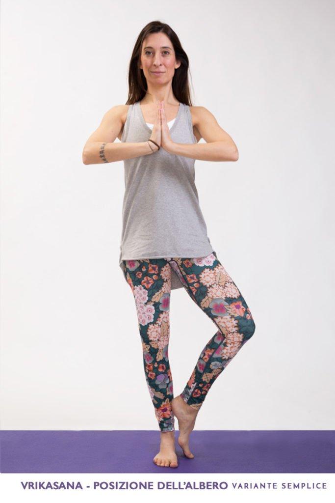vrikasana-yoga-posizionedell'albero-variante semplice