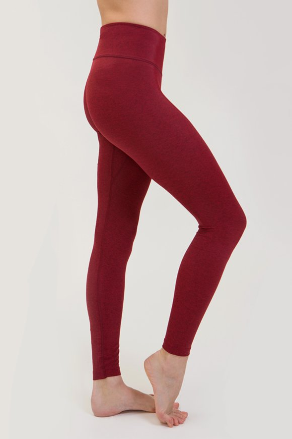 Rama leggings yoga clothing for woman made in Italy color ruby