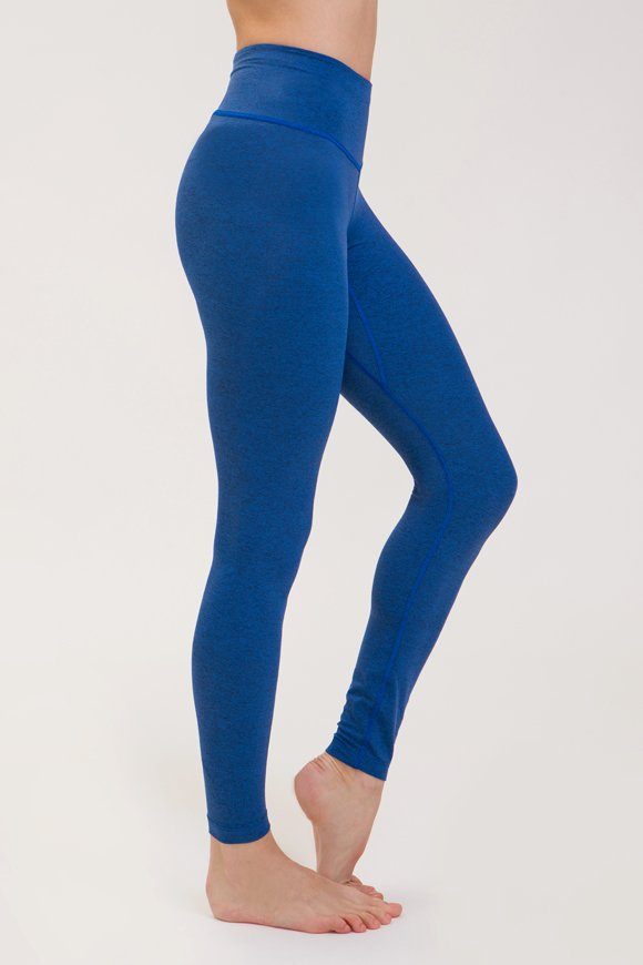 Rama leggings yoga clothing for woman made in Italy color bluette