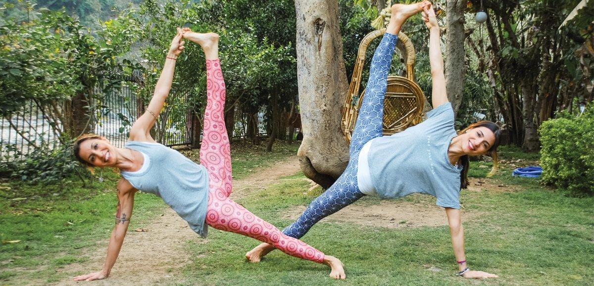 tre posizioni yoga, un pranayama da praticare in primavera per rigenerare il tuo corpo