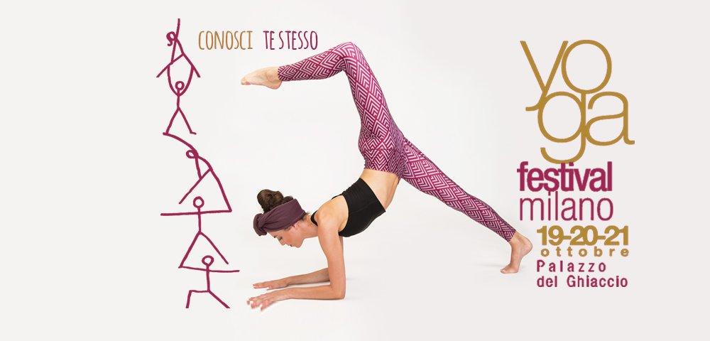 atma sarà presente all'edizione di yoga festival Milano 2018