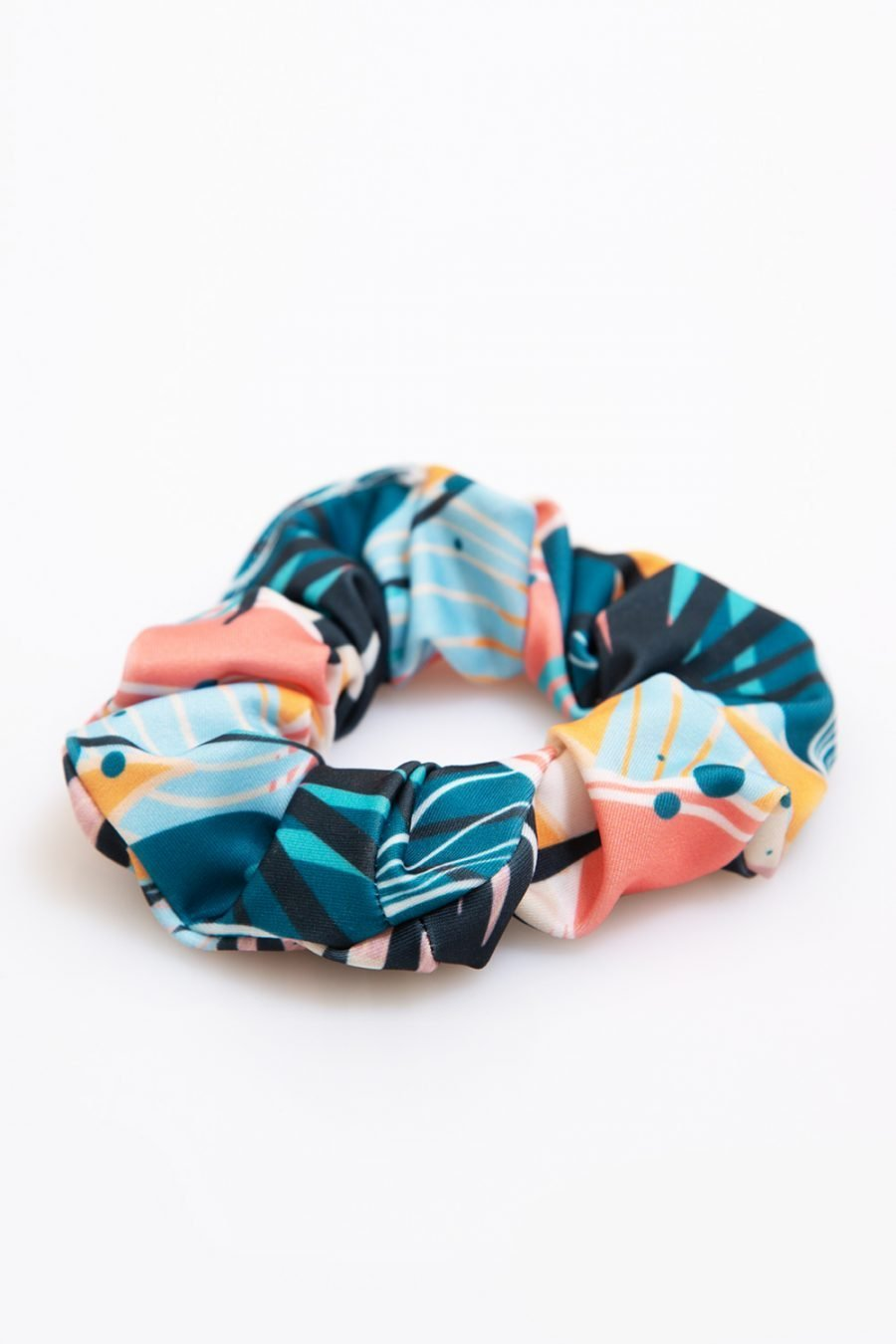 scrunchie tropical abbigliamento yoga donna made in Italy colore tropical